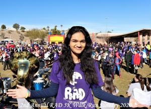 2020 Radhika and crowd